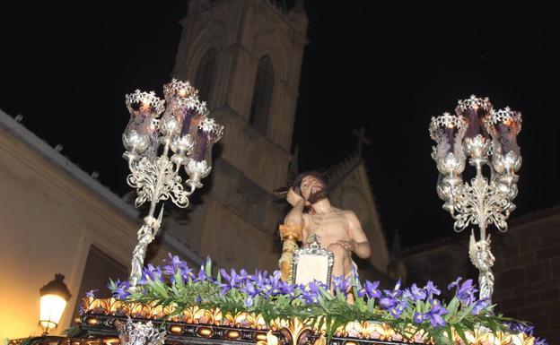 Salida Extraordinaria del Cristo de la Paciencia de Andujar