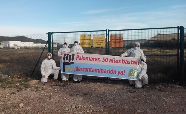 Protesta ecologista en Palomares/IDEAL