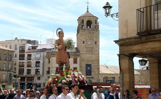 Anterior procesión de San Isidro./ROMÁN