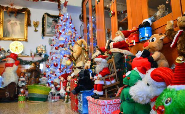 Así es la casa de la 'Mamá Noel de España'