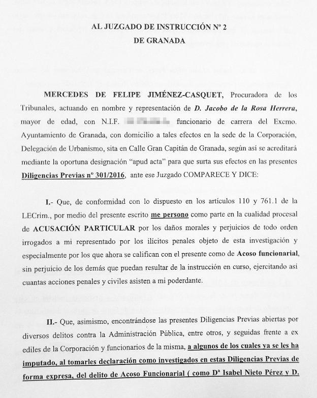 El principal testigo de la nazar denuncia por acoso for Juzgado de guadix