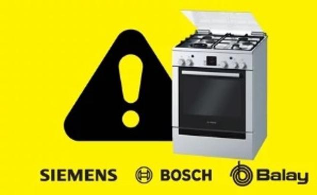 Riesgo de explosi n en 14 modelos de cocinas de gas bosch siemens y balay comprueba si est la - Cocinas balay gas ...
