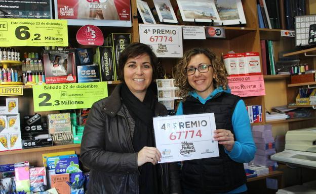 La Lotería de Navidad deja dos agraciados en El Ejido con el tercer ...