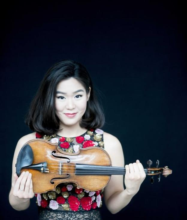 La violinista Esther Yoo.