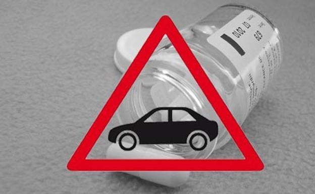 el alcohol y los medicamentos pueden influir en la conduccion aumentando
