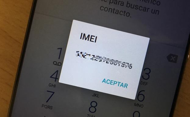 5151dc2f547 La Policía recuerda la importancia del número IMEI: ¿sabes averiguar el de  tu móvil?