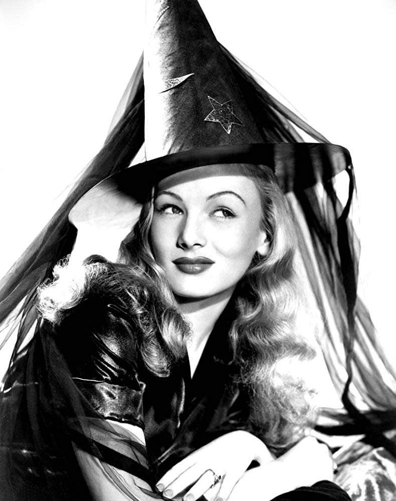Veronica Lake en 'I married a witch'.