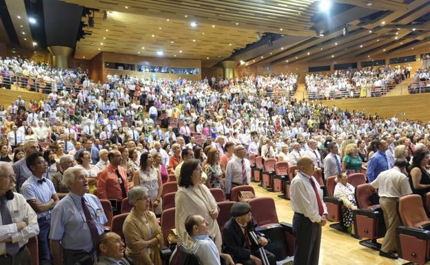 Así ha sido en Granada la asamblea regional de testigos de Jehová.