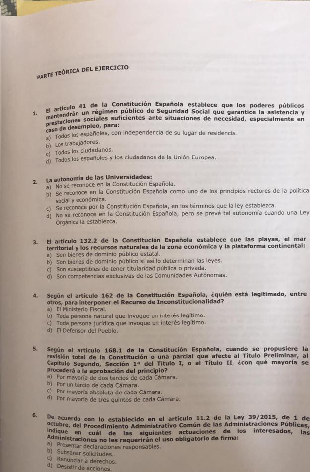Examen De Administrativo De La Ugr Aprobarías El Examen A Auxiliar Administrativo De La Ugr Estas Fueron Las Preguntas Ideal