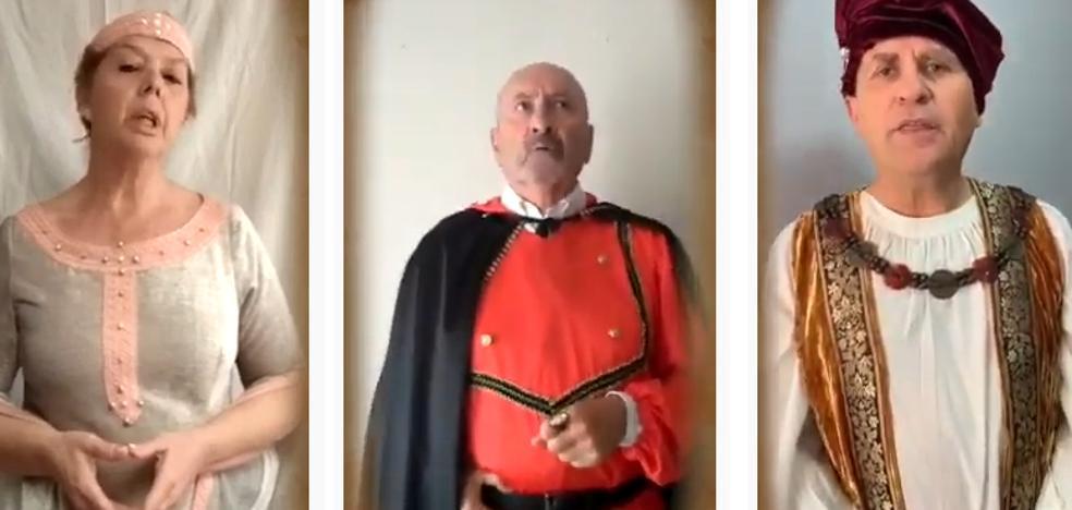 Capitulaciones De Santa Fe La Reina Isabel Y El Rey Fernando Recrean La Firma Virtual Ideal