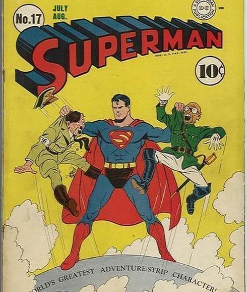Resultado de imagen para superman vs hitler