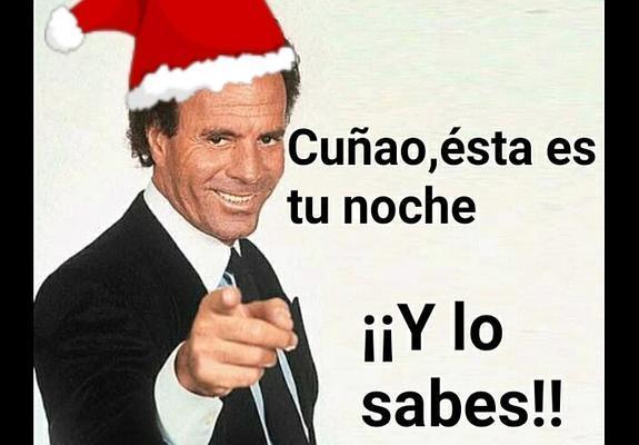 Felicitaciones graciosas de navidad y fin de ano
