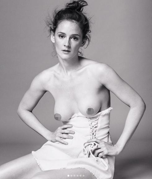 El Desnudo De Ana Polvorosa Para Reivindicar La Libertad De La Mujer